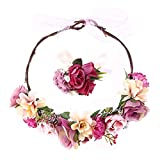 Demarkt - Corona de Flores para el Pelo con Floral