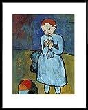 1art1 Pablo Picasso Poster Kunstdruck und Kunststoff-Rahmen