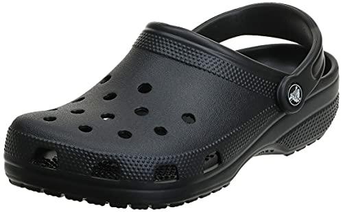Crocs Unisex Classic Pantoffeln, Black, 39/40 EU