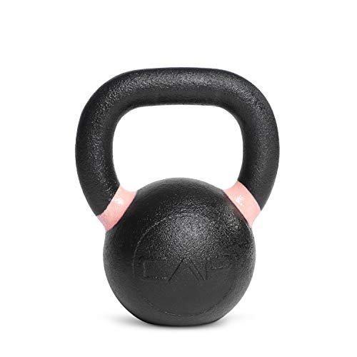 CAP Barbell Cast Iron Competition Kettlebell Weight, 18 Pounds