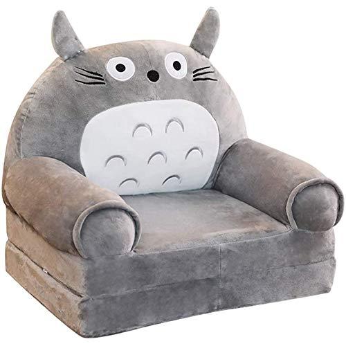 YUEHAPPY® Sillón Sofá Infantil Personalizado De Espuma Para Niños 0-5 Años, Decoración De Hogar - Blue Elephant