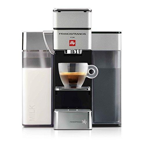 Illy Espresso Machine Iperespresso Espresso&Coffee Y5 Milk 60235 White
