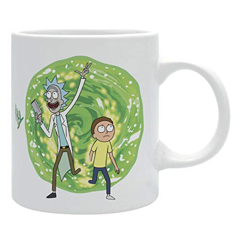 ABYstyle Marvel Rick And Morty Portal Tasse für Adulti, ABYMUG387