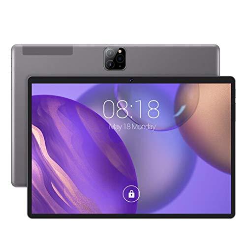 ELLENS Tableta Android con Pantalla IPS de 10.1 Pulgadas, Ranura para Tarjetas SIM Dual, Tableta para teléfono móvil 4G, 2GB RAM 32GB ROM, cámara Dual, Bluetooth GPS WiFi