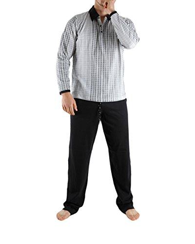 Udy Collection - Pyjama long Atlas II - (Blanc/S)