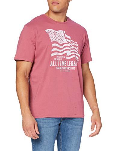 Tom Tailor Legacy Print T-Shirt Camiseta para Hombre