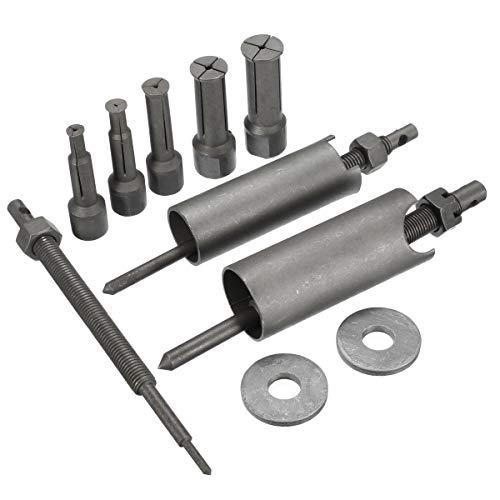 PUXINGPING- Mofaner 1 Conjunto de Acero Moto Car Interior Extractor de cojinetes removedor de la Herramienta del Kit de 9 mm a 23 mm Diámetro