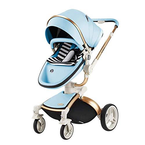 LjfⓇ Hot Mutter Kinderwagen Reisesystem, Winter und Sommer Dual-Use-Kinderwagen, Neugeborene kann...