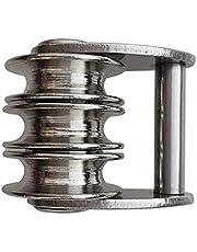 Baoblaze Drievoudige riemschijf van roestvrij staal voor zeilen
