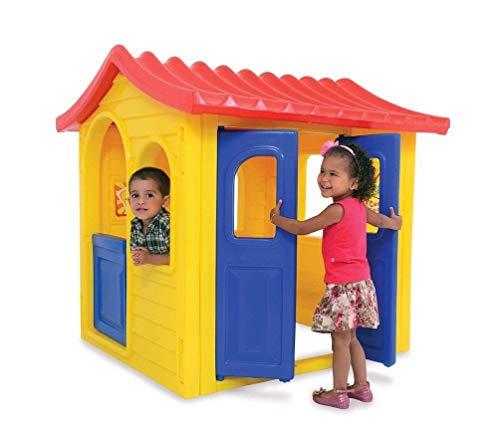 Casinha Infantil Encantada Xalingo Brinquedos Amarelo