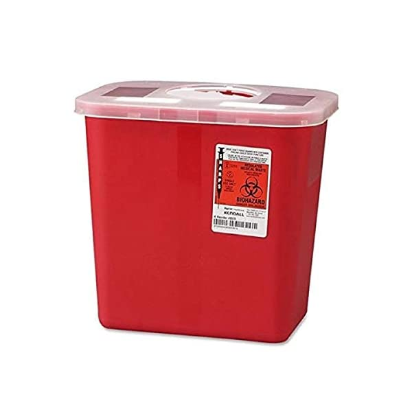 buy  Sharps Multi-Purpose Containers with Rotor Lids, 2 ... Diabetes Care