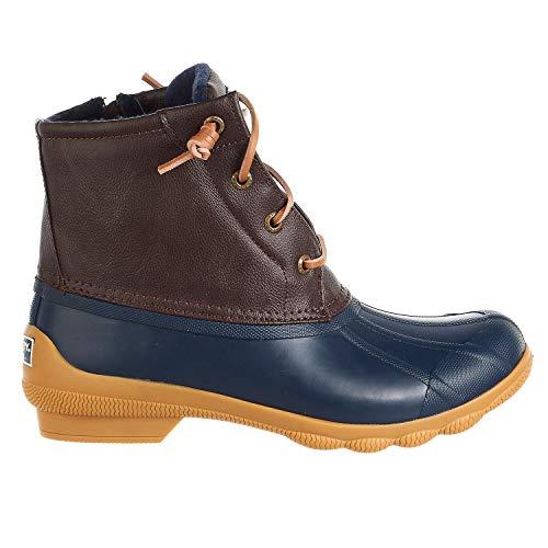 Sperry Women's Syren Gulf Duck Boot (9 M US, Navy/Brown)
