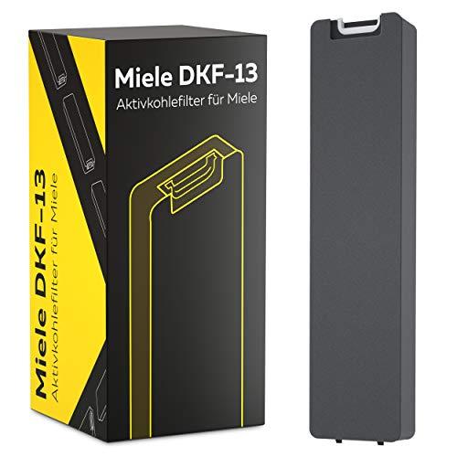 DKF13-1 Miele Hochwertiger Aktivkohlefilter für die Teilenummer 6485741 und Dunstabzugshauben DA 3XXX zb. DA3366 / 3466/3496 von Kf3tec