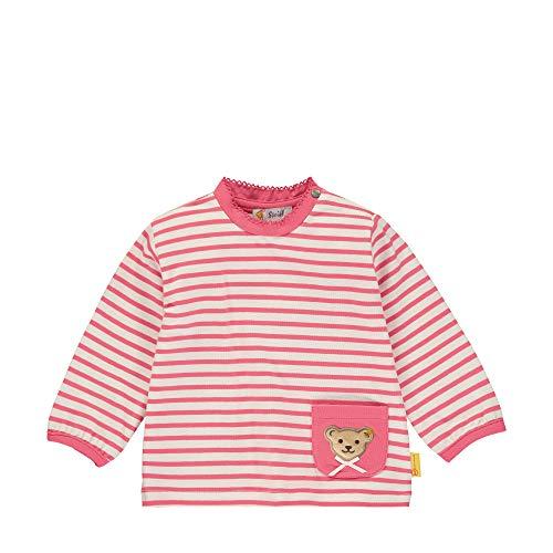 Steiff Langarm T-Shirt À Manches Longues, Rose (Pink Dove 2203), 58 (Taille Fabricant: 056) Bébé Fille