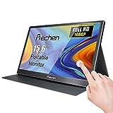15,6 pollici HD Portatile Touchscreen Monitor 1920x1080P Multi-Touch 16:9 Gaming Monitor con Doppia...