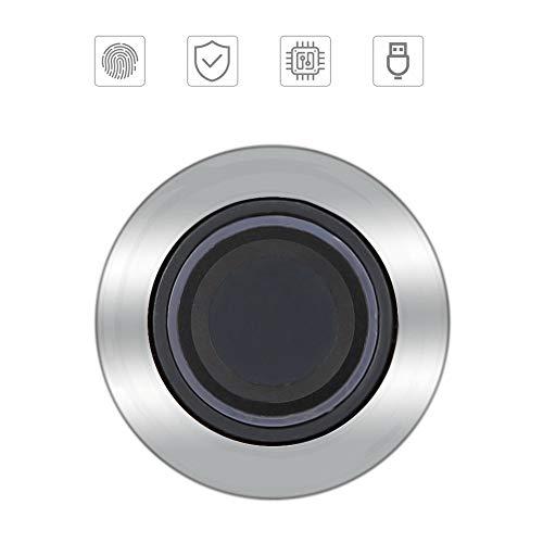 Cerradura de cajón duradera Cerradura de gabinete Antirrobo Semiconductor Cerradura de archivo Cerradura de huella dactilar sin llave para hotel para oficina para hogar