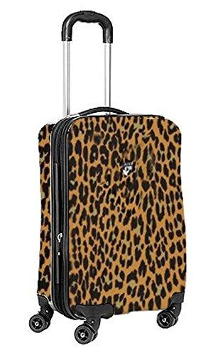 Equipaje, Maletas y Bolsas de Viaje - Premium Designer Maleta Rígida - Heys Novus Art Leopardo Equipaje de Mano