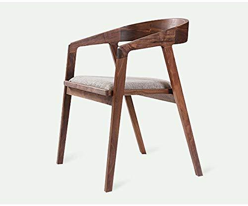 Gasgff Nordic Solider Einfacher Präsident Stuhl Zu Hause Esszimmerstuhl Holzstuhl Computer Schreibtischstuhl Café Freizeit Zurück Bürostuhl