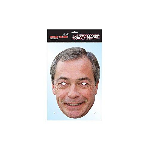 Nigel farage Masque Visage ukip