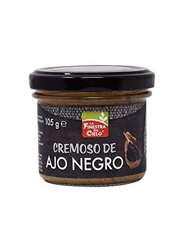 Cremoso de ajo negro BIO - La Finestra sul cielo - 105 gr