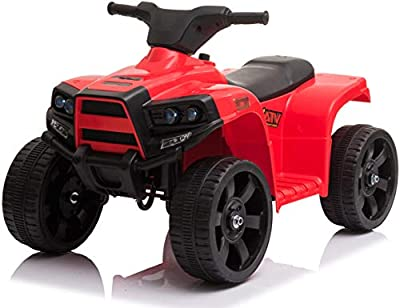 Wonderlanes Beyond Infinity Children's Ride On Mini ATV, Red - 6V Battery Powered Wheels, for Ages 1-3 from Beyond Infinity