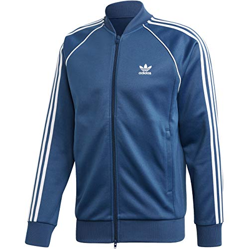 adidas Mens SST Tt Jacket, Night Marine, L