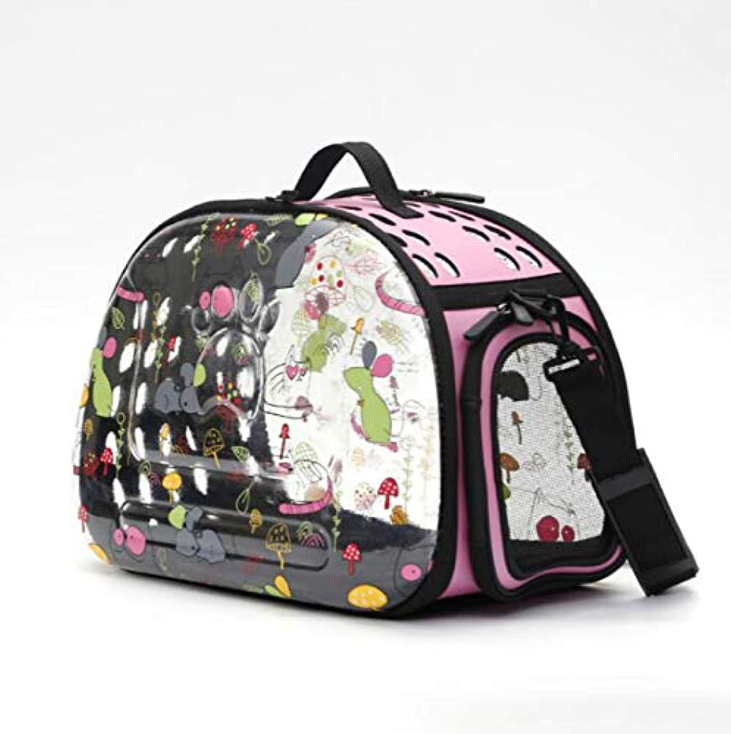 Fashion Shop Airline Approved Innovative Patent Bubble Pet Carriers Traveler Bubble Backpack Pet Carrier for Cats (Pink (New style))