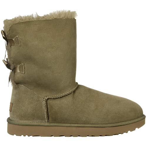 UGG Australia Bailey Bow II Ladies Boots Brown, tamaño:38