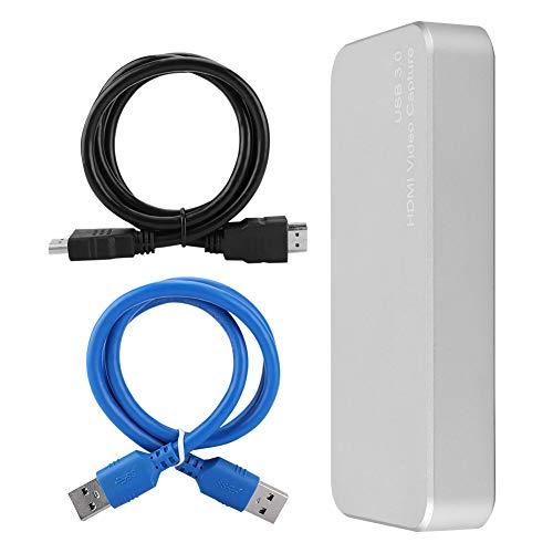 USB 3.0-Hochgeschwindigkeits-Daten/übertragung Video-Capture-Box Unterst/ützung des UVC-Standards USB 3.0 HDMI HD-Treiber Kostenlose Video-Live-Streaming-Recorder-Capture-Box f/ür Windows