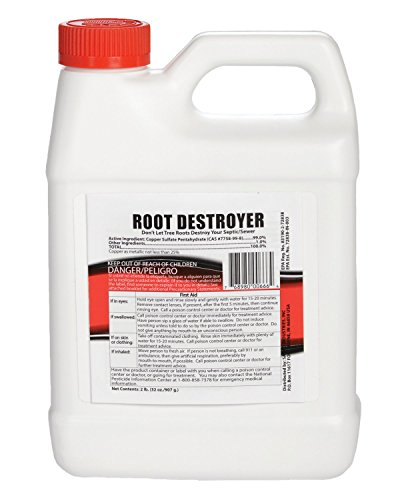 Root Destroyer – 2lbs of Pure Copper Sulfate Crystals - Root Killer for Sewer & Pipe Lines- Stops New Growth – Safe for all Plumbing