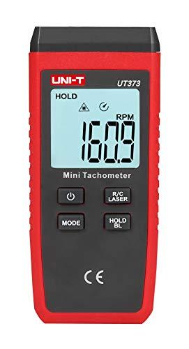 UNI-T UT373 - Tacómetro digital sin contacto, Medida de velocidad hasta 9999,9 rpm