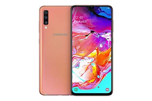 Samsung Galaxy A70 - Smartphone (17.0cm (6,7 Zoll) 128GB interner Speicher, 6GB RAM, Dual Sim, Orange) - Deutsche Version