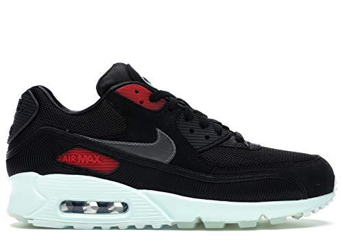Nike Air MAX 90 - Vinilo para Hombre, Color Negro y Gris