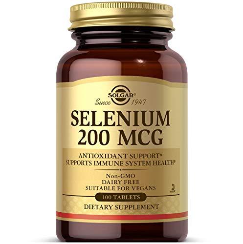 Solgar - 200 de selenio mcg. -Tabletas...