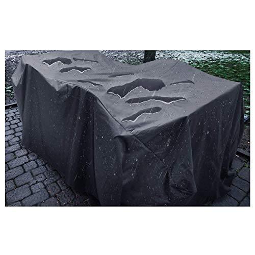 Tissu Oxford Respirant Aux UV Imperméable Housse De Protection De Salon De Jardin Couverture De Meubles De Rotin Housse de Protection Exterieur Multi-Taille (Size : 325x208x58cm)