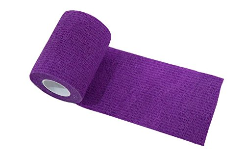 nilo, Bende adesive - 6 rotoli, 10 cm x 4,5 m, benda autoadesiva ed elastica (purposa)