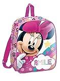Minnie Mouse 29cm Mochila Tiempo Libre y Sportwear Infantil, Juventud Unisex, Multicolor (Multicolor), 29 cm