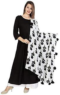 FEMEZONE Women's Cotton & Rayon Readymade Salwar Suit