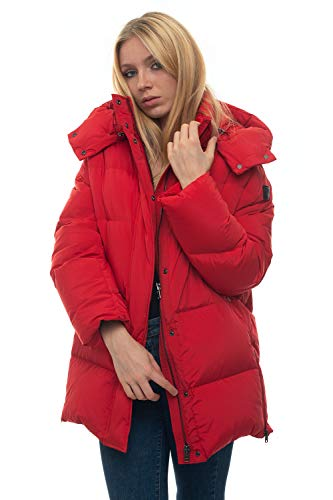 WOOLRICH Steppjacke W's Aurora Puffy Coat rot Polyamid für Damen, Daunenjacke, Rot S