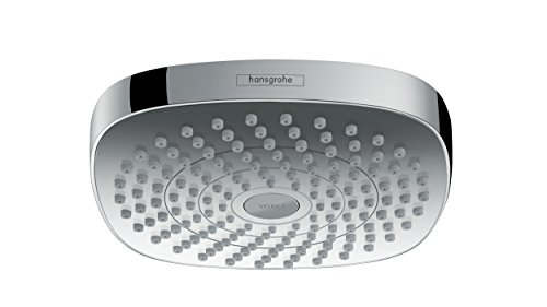 hansgrohe Croma Select E 180 Duschkopf, Kopfbrause mit 2 Strahlarten, Chrom