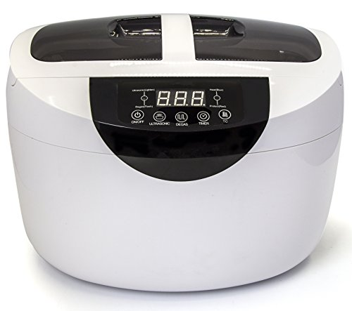 Kendal Industrial Grade 165 Watts 2.5 Liters Digital Heated Ultrasonic Cleaner with Degas Function