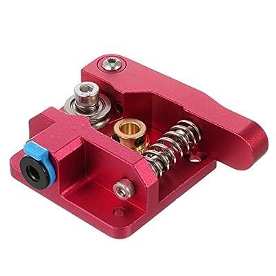 Xinzistar Aluminium Bowden MK8 3D Printer Extruder Kit Upgrade for 3D Printers, Fits Many Models for 1.75mm Filament. Right Design
