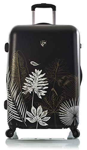 Heys America Oasis 26' Fashion Spinner Luggage With TSA Lock (Black/Gold)