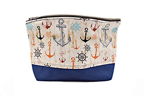 Handmade Sailor Nautical Make Up Cosmetic Bag