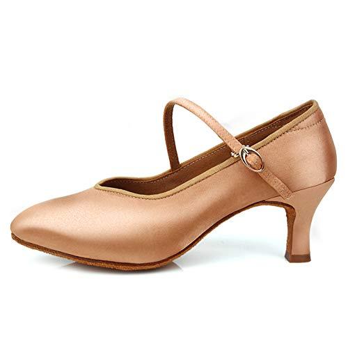 JUODVMP Cerrados Zapatos de Baile de Salon Mujer Modernos Tango Salsa Zapatos...