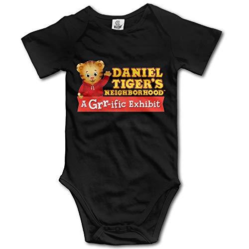 Axige888 Daniel Tiger One's Neighborhood Logo Design Baby Boy Girl Conjoined Cotton 12M