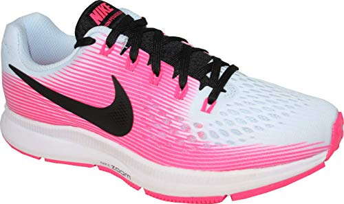 Nike Women's Air Zoom Pegasus 34 (Half Blue/Black-Hyper Pink, Size 7)