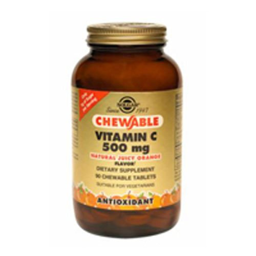 Chewable Vitamin C 500mg (Orange) 90 Tab 3-Pack
