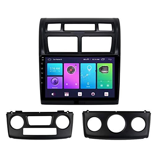 Nav Android 10.0 Car Stereo Double DIN para KIA Sportage 2007-2013 Navegación GPS Unidad Principal de 9 Pulgadas Reproductor Multimedia MP5 Receptor de Video y Radio con 4G WiFi DSP Carplay
