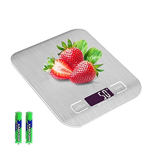 キッチンスケール クッキング はかり デジタル スケール 計量器 計り 測り 料理 電子はかり 最大計量5kg 電子秤 小型 コンパクト 精密 風袋引き機能 自動オフ 多用途 Evaduol